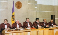 The first composition of the Constitutional Court Plenum